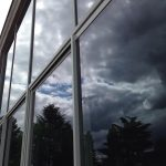 Baie vitrée / fenêtres en aluminium