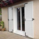 Porte-fenêtre en PVC