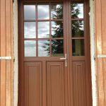 Porte-fenêtre mixte bois alu